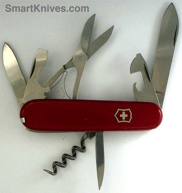 Victorinox Climber Traveller 91mm Swiss Army Knife