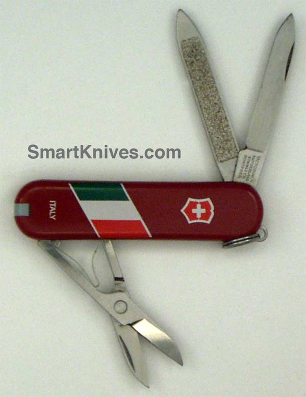 Victorinox Classic 58mm Swiss Army Knives Country Flags