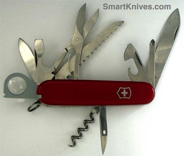 Victorinox Woodsman 91mm Swiss Army Knife