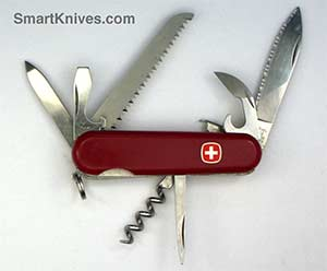 Three Layer Wenger 85mm Pocket Sized Swiss Army Knives