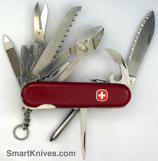 Wenger Master Serrated 85mm Swiss Army Pocket Knife