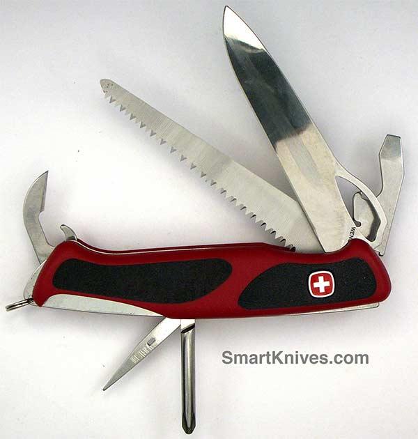 Wenger Rangergrip 78 Locking Blade Swiss Army Knife